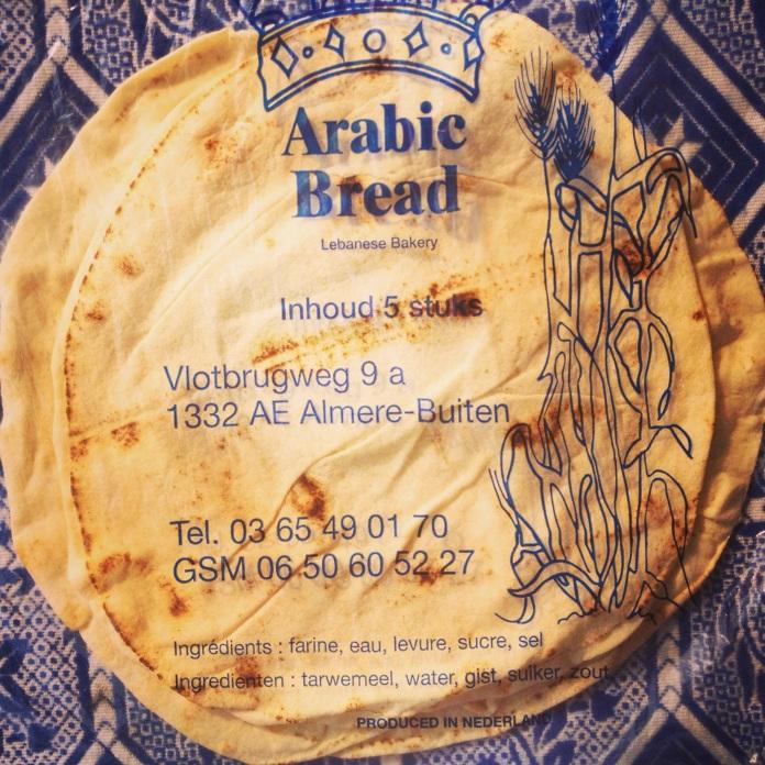 Arabische platbrood